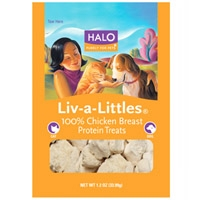 Halo Liv-A-Littles Whole Chicken Treats Pouch 1.1 oz.