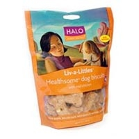 Halo Liv-A-Littles Healthsome Dog Biscuit Chicken,  8 oz.
