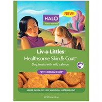 Halo Live-A-Little Healthsome Skin & Coat Treats With Dream Coat