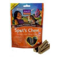 Halo Spots Chew Dental Treat Pumpkin Small/Medium 7.2 oz.