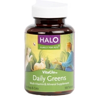 Halo Vita Glo Daily Greens Tablets 100 Count