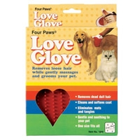 Four Paws Love Glove Grooming Mitt
