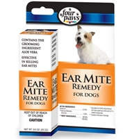 Four Paws Ear Mite Remedy - Dogs