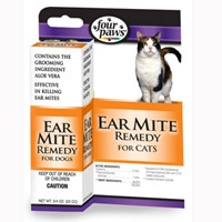 Four Paws Ear Mite Remedy - Cat