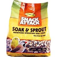 Higgins  Snack Attack Soak & Sprout 12oz Bag