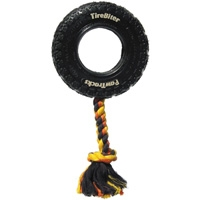 "Mammoth Pet Small 6"" TireBiter PawTrack w/Rope"