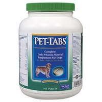 Virbac Pet Tabs Supplements for Dogs