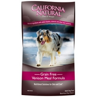 Natura California Natural Grain Free Venison 30 Lbs