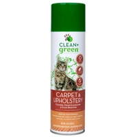 Clean & Green Dog and Cat Carpet Stain Remover, Odor Eliminator, and Cleaner 16 oz