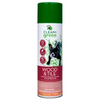 Clean & Green Dog Wood and Tile Stain Remover, Odor Eliminator, and Cleaner 16 oz