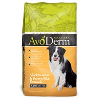 AvoDerm Natural Chicken Meal & Rice - Dog 4.4 lb.