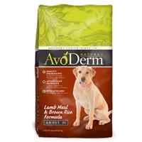 AvoDerm Natural Lamb Meal & Rice - Dog 15 lb.