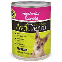 AvoDerm Natural Vegetarian - Dog 13 Oz