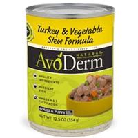 AvoDerm Natural Turkey & Veg Stew - Dog 12.5 Oz