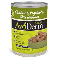 AvoDerm Natural Chicken & Veg Stew - Dog 12.5 Oz