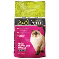 AvoDerm Natural Indoor With Hairball Care - Cat 14 lb.