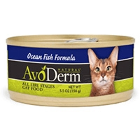 AvoDerm Natural Ocean Fish Formula Cat Food 5.5 Oz
