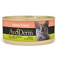 AvoDerm Natural Salmon Formula Cat Food 5.5 Oz