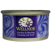 Wellness Canned Cat Super5Mix Chicken & Herring 24/3 oz Case