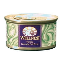 Wellness Canned Cat Turkey 3 Oz