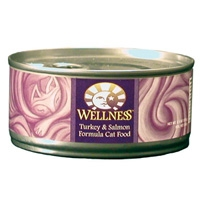 Wellness Canned Cat Super5Mix Turkey & Salmon 24/5.5 oz Case