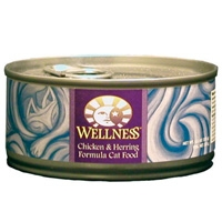 Wellness Canned Cat Super5Mix Chicken & Herring 24/5.5 oz Case