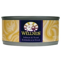 Wellness Canned Cat Salmon & Trout 24/5.5 oz Case