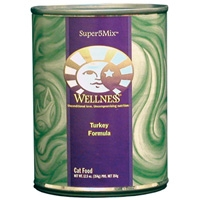 Wellness Canned Cat Super5Mix Turkey 12/12.5 oz Case