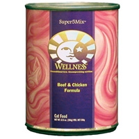 Wellness Canned Cat Super5Mix Beef & Chicken 12.5 Oz