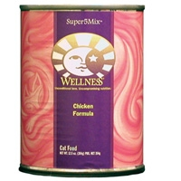 Wellness Canned Cat Super5Mix Chicken 12/12.5 oz Case