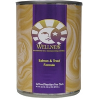 Wellness Canned Cat Salmon & Trout 12/12.5 oz Case