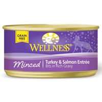 Wellness Minced Turkey/Salmon Entree 3 Oz
