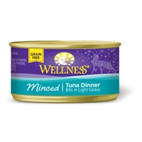 Wellness Cat Cuts, Minced Tuna, 5.5 oz.