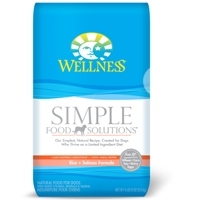 Wellness Simple Food Solutions Salmon & Potato Formula Dry Dog 10.5#
