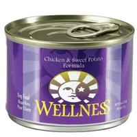 Wellness Canned Dog Super5Mix Chicken 24/6 oz Case