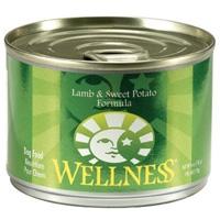 Wellness Canned Dog Super5Mix Lamb 24/6 oz Case