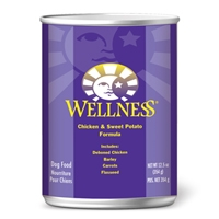 Wellness Canned Dog Super5Mix Chicken 12.5 Oz