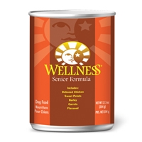 Wellness Canned Dog Super5Mix Senior 12/12.5 oz Case