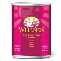 Wellness Canned Dog Super5Mix Duck 12.5 Oz