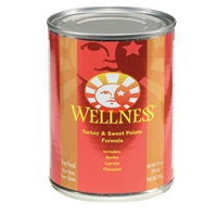 Wellness Canned Dog Turkey & Sweet Potato 12/12.5 oz Case
