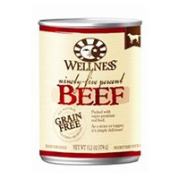 Wellness Canned Dog 95% Beef 13.2 Oz
