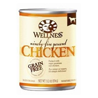 Wellness Canned Dog 95% Chicken 12/13.2 oz Case