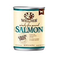 Wellness Canned Dog 95% Salmon 12/13.2 oz Case