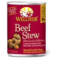 Wellness Beef Stew with Carrots & Potatoes 12.5 Oz