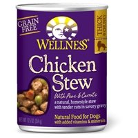 Wellness Chicken Stew with Peas & Carrots 12/12.5 oz. Can