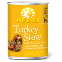 Wellness Turkey Stew with Barley & Carrots 12/12.5 oz. Can