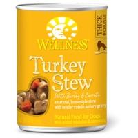Wellness Turkey Stew with Barley & Carrots 12/12.5 oz. Can
