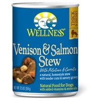 Wellness Venison & Salmon Stew with Potatoes & Carrots 12/12.5 oz. Can