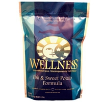 Wellness Dry Dog Fish & Sweet Potato 6 lbs Case