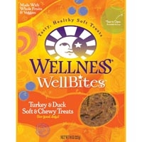 Wellness WellBites Duck & Turkey 8/8 oz Case